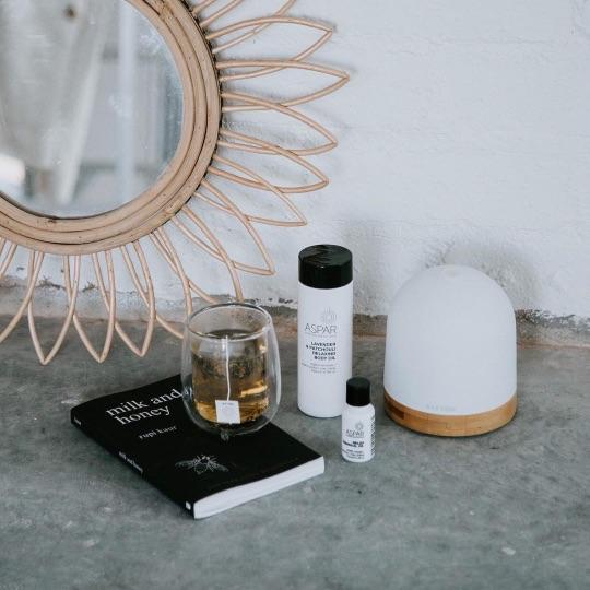 ASPAR relax body oil