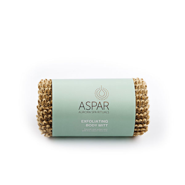ASPAR AURORA SPA EXFOLIATING BODY MITT