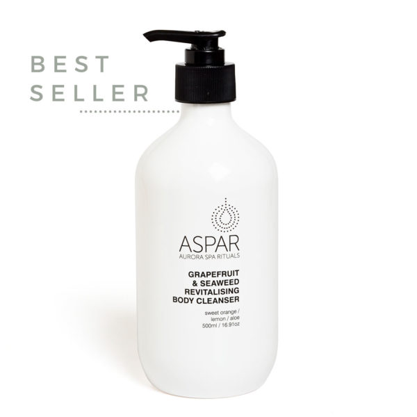 ASPAR AURORA SPA grapefruit revitalising body cleanser