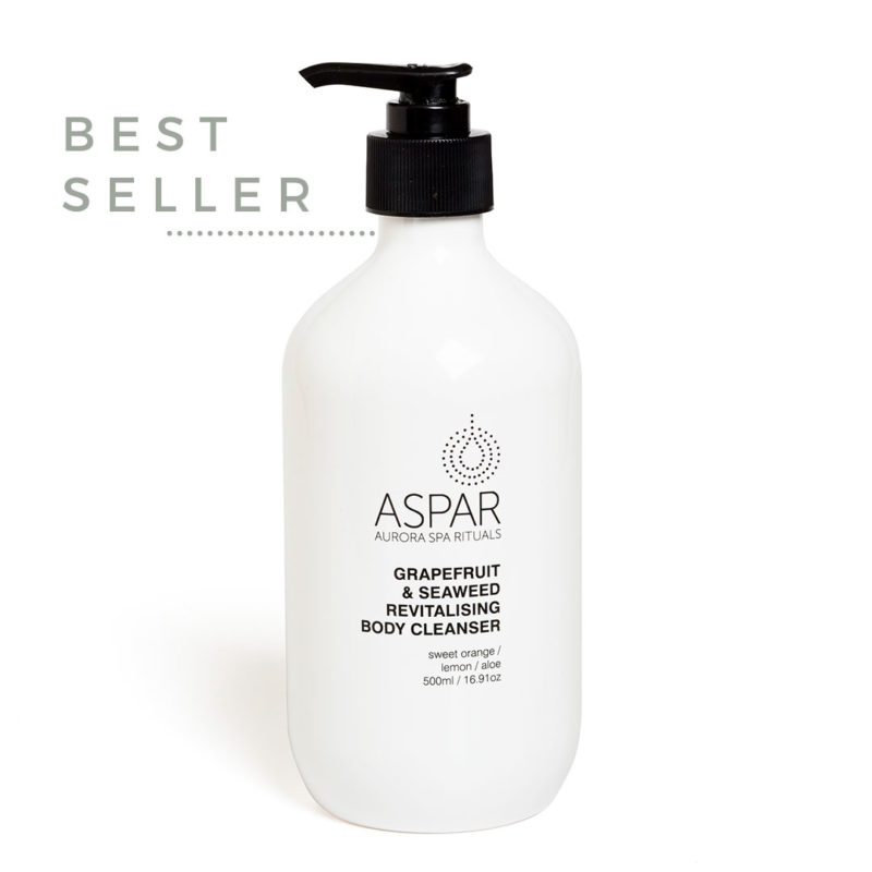ASPAR AURORA SPA grapefruit revitalising body cleanser