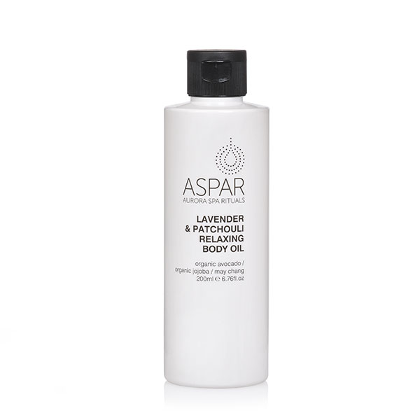 ASPAR relax lavender body oil
