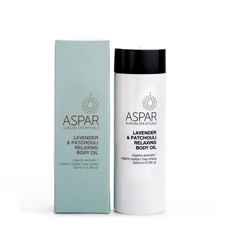 ASPAR relax lavender body oil