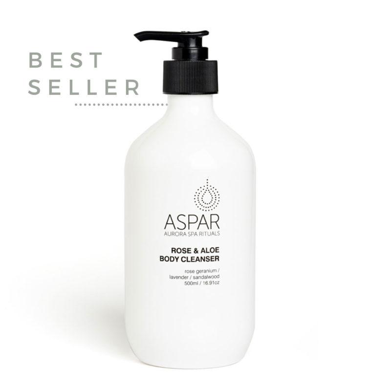 ASPAR AURORA SPA ROSE AND ALOE BODY CLEANSER