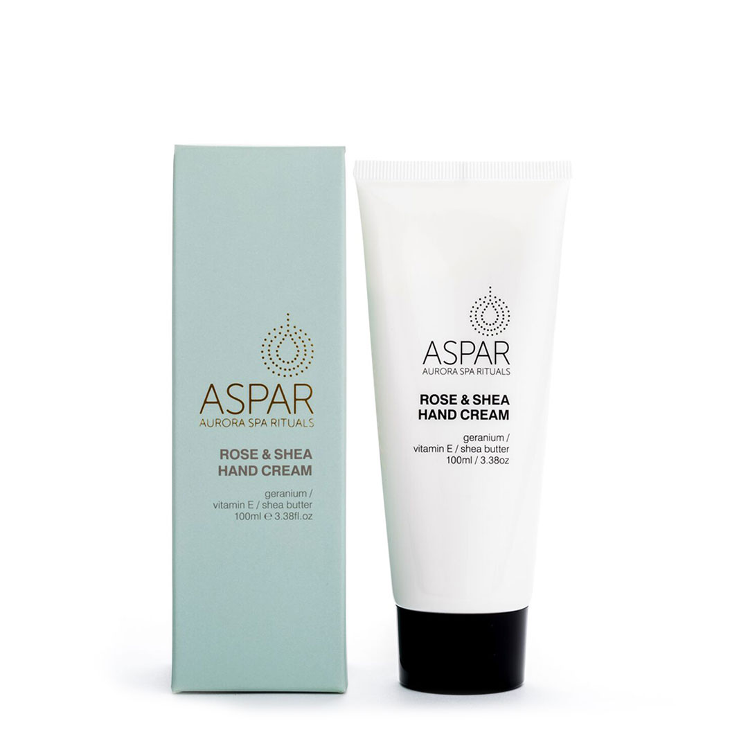 ASPAR AURORA SPA ROSE HAND CREAM