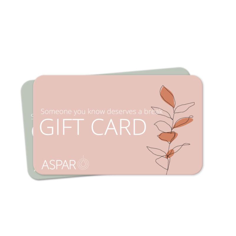 ASPAR GIFT CARD ASPAR AURORA SPA
